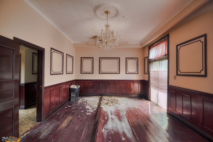 Decayed Dining room