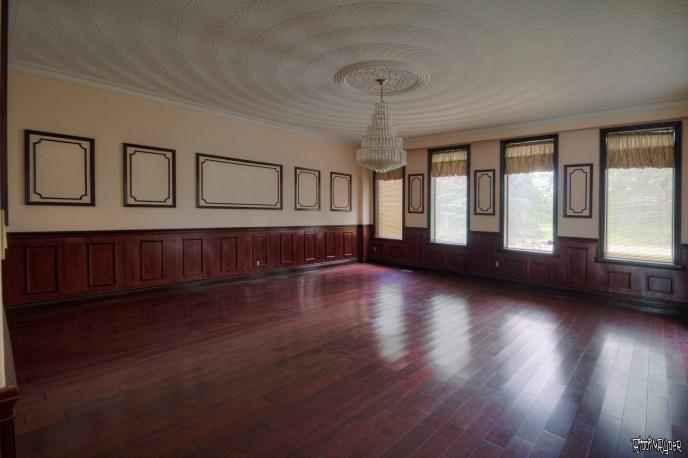 Abandoned mansion room