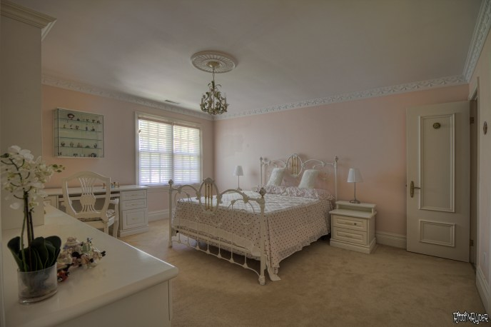 Girls Bedroom in an abandoned mansion