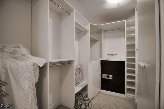Mansion walk in closet