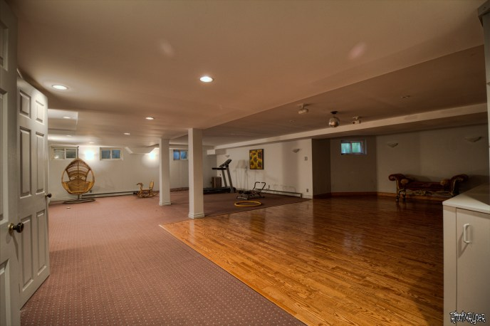 Colonial Mansion Basement