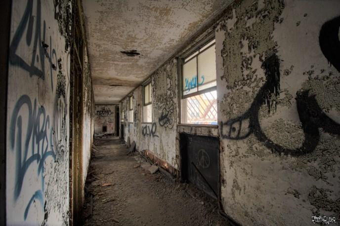 abandoned corridor