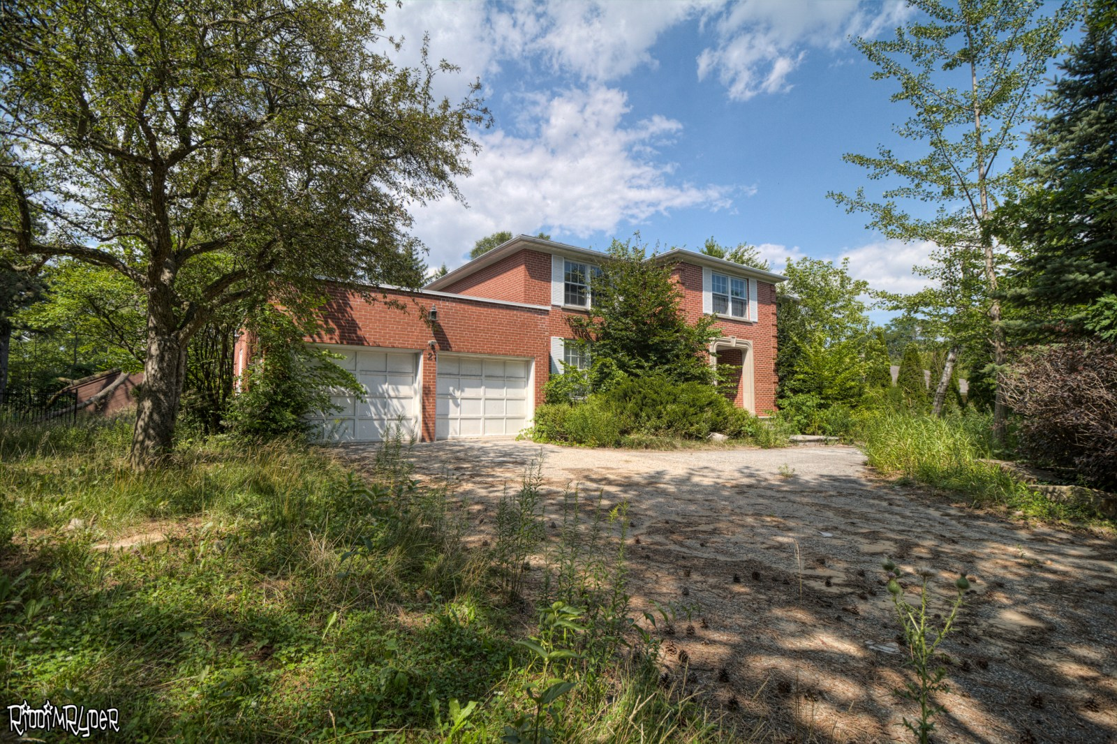 Toronto Abandoned Brick Home