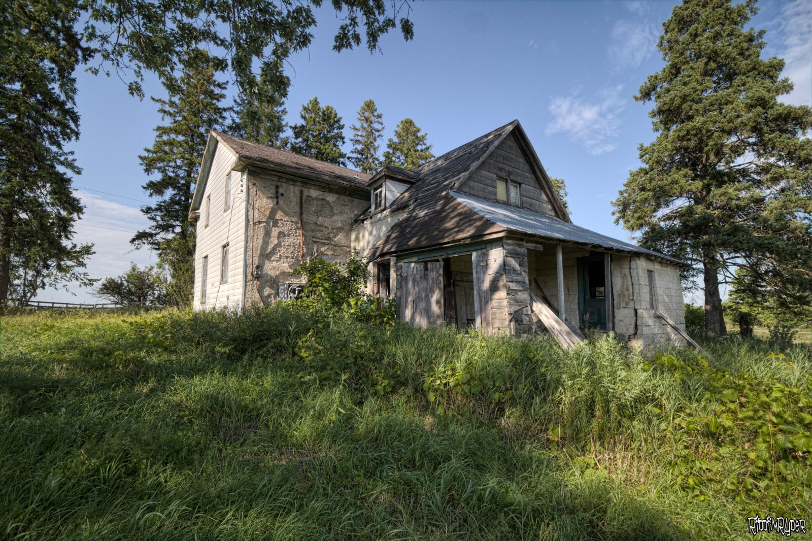 Country Abandoned Farm House