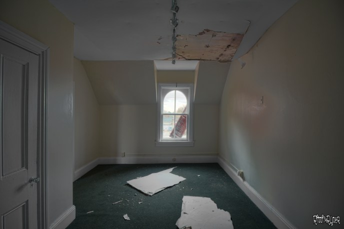 Abandoned Victorian House Upstairs