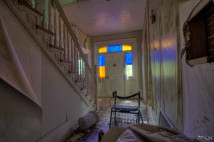 Abandoned Stained Glass House