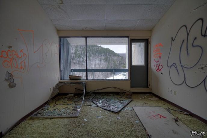 Abandoned Resort Room