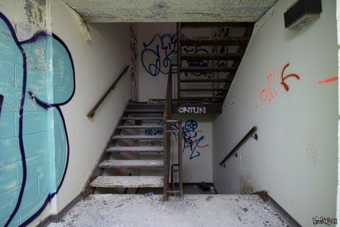 Abandoend Stairs