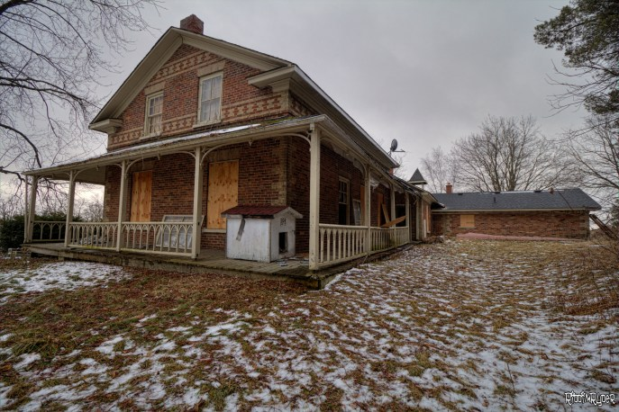 Abandoned Homestead Exterior