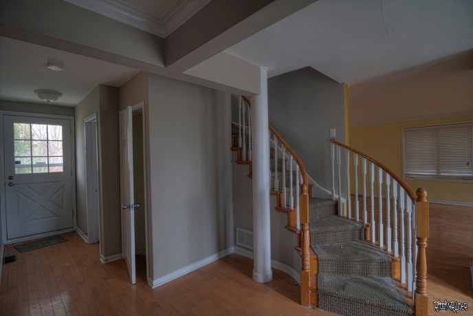 Abandoned Home Front Foyer