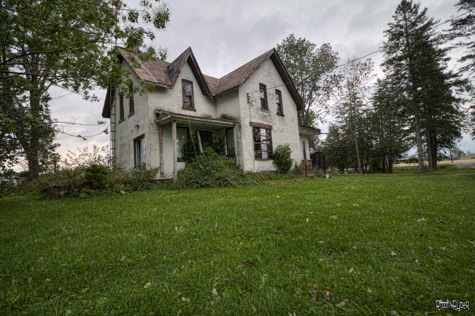 Abandoned Ontario Country Home