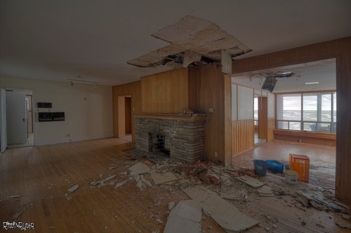 Decaying Family Room
