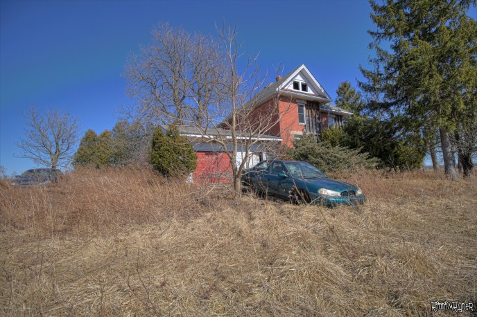 Abandoned Car and House