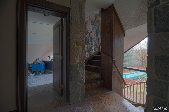 West Staircase