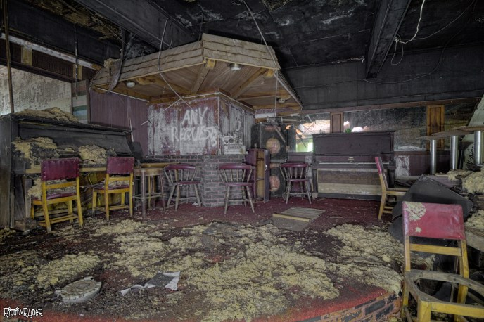 Decaying ABadoned STage