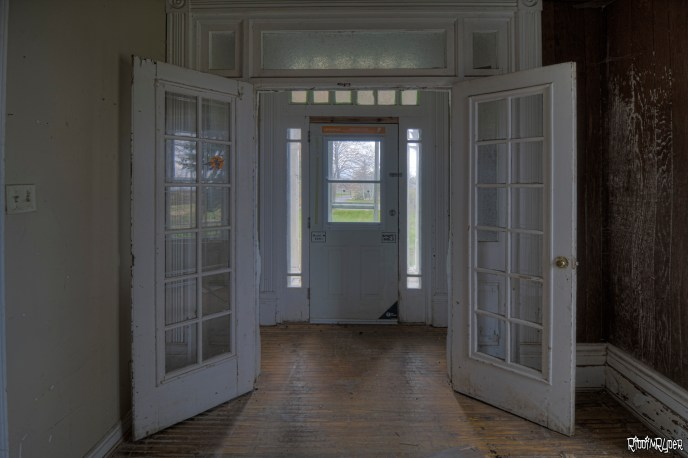 Front Doors of the Abandoned House