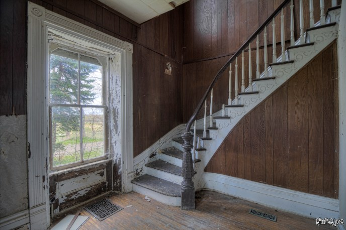 Staircase & window