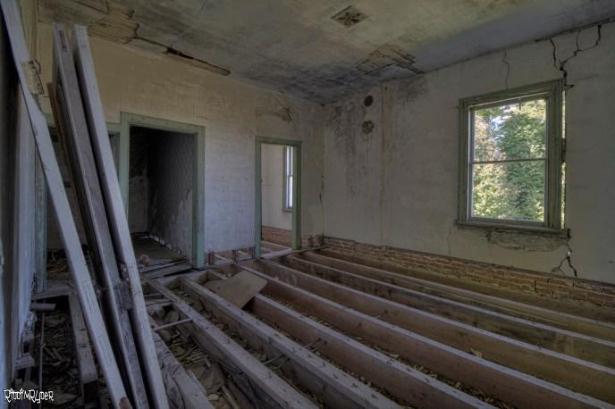 Dangerous Floors in Abandoned House