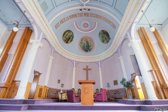 The sanctuary