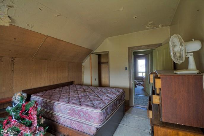 Abandoned Home Master Bedroom
