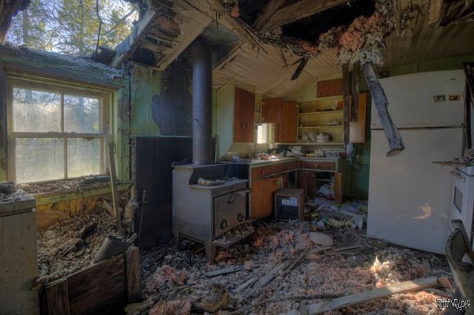 Decaying Kitchen