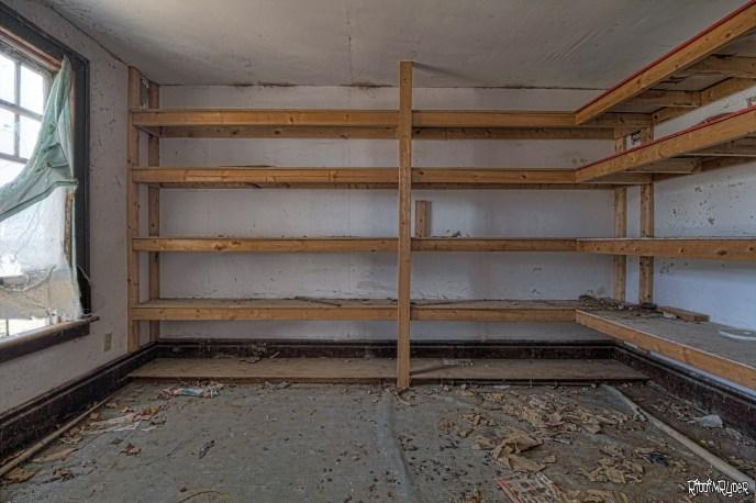 Weird Shelves in a Room