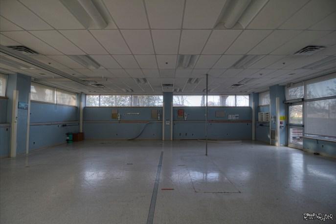 Room Inside the Lakeside Hospital
