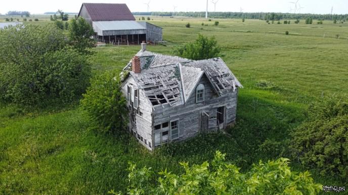 Decayed Grey Farmhouse