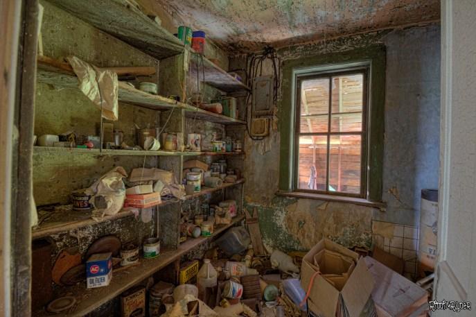 Storage room of the farmhouse