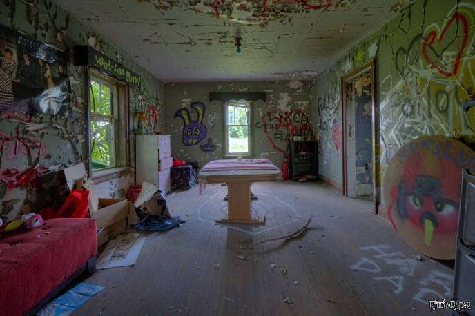 Creepy Room in the Abandoned House