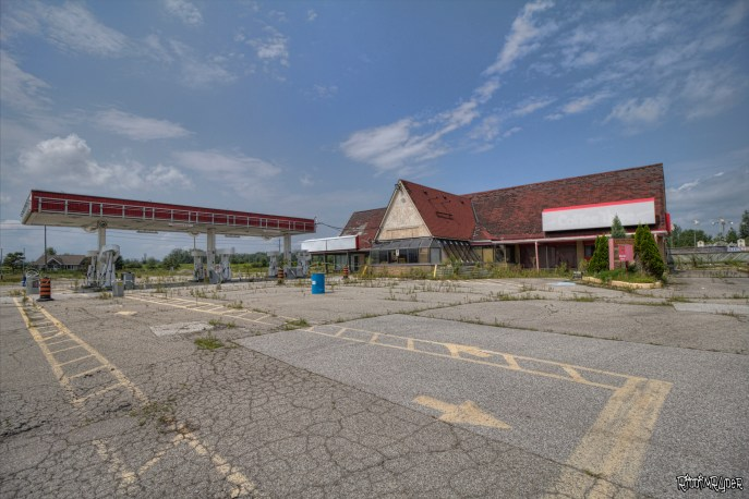 Abandoned Rest Stop
