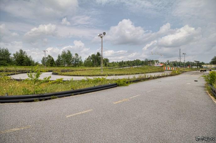 Abandoned Go-Kart Track