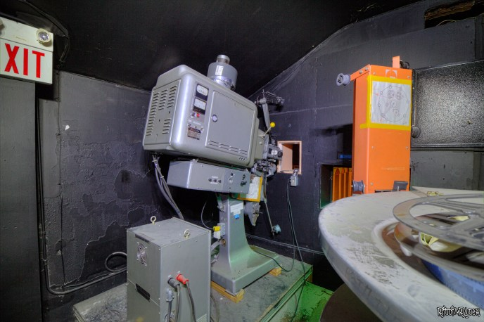 Theatre Projector Room
