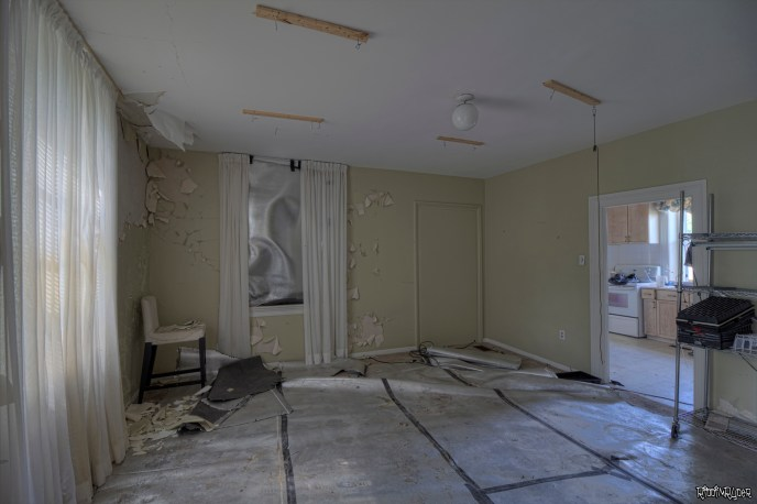 Grow Room in the Abandoned House