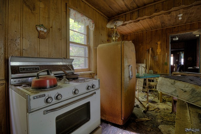 Kitchen in the Abandoned Retreat