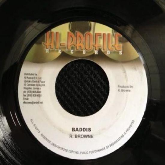BADDIS RIDDIM (RAGGA DANCEHALL) - HI-PROFILE RECORDS   RIDDIMS WORLD