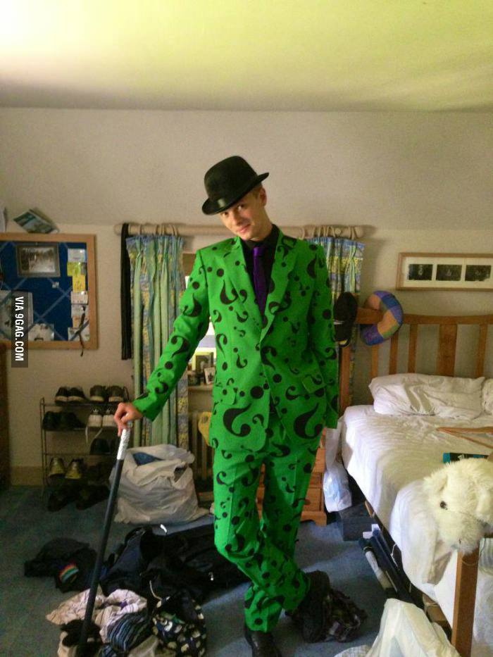 Nightwing Halloween Costume riddler costume for sale