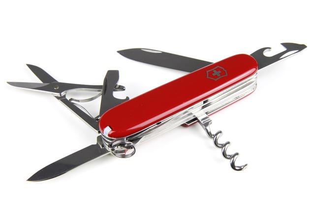 Kit du Gentleman : Un couteau de poche multilames