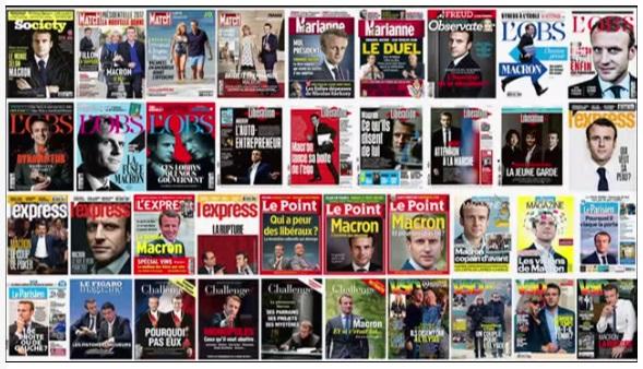 Les journalistes : une passion vouée à Emmanuel Marcon avant qu'il ne devienne président.