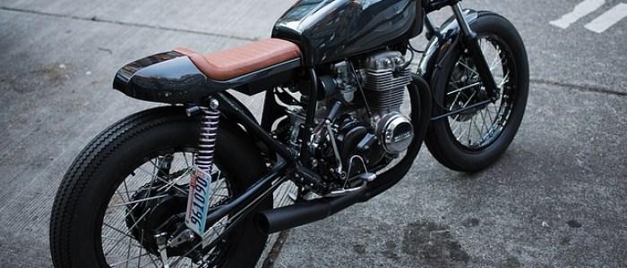 Moto : une moto préparée façon Bobber
