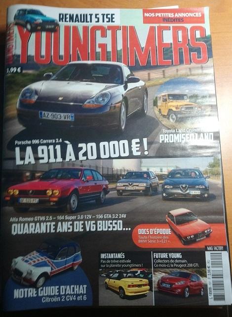 Presse Moto & Auto : Youngtimers
