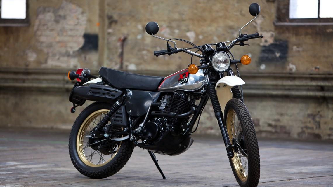 Quatre Motos Yamaha Mythiques