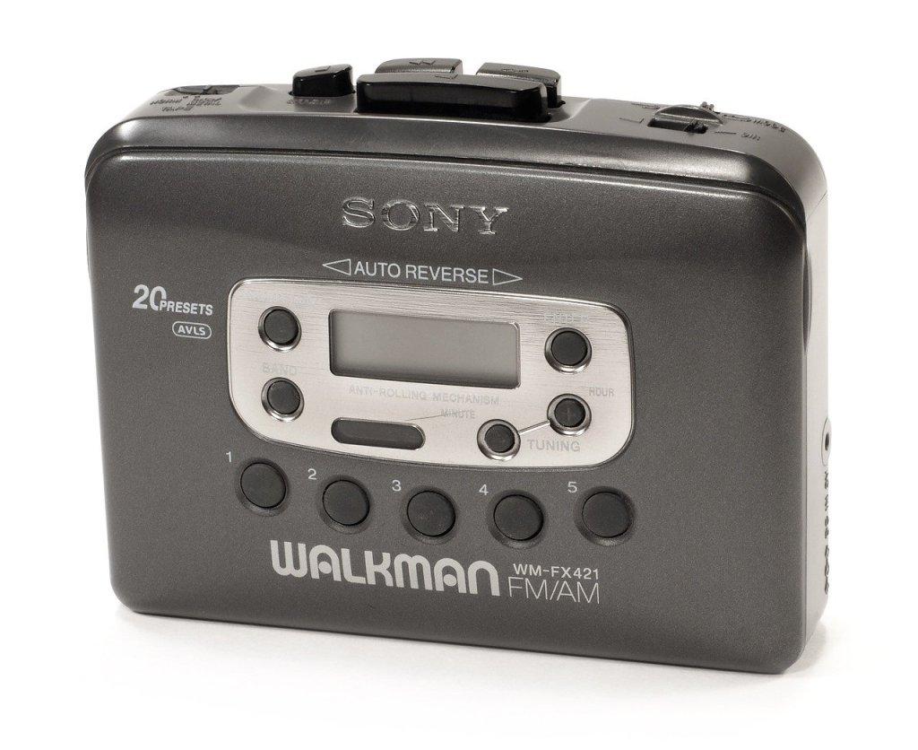 Un objet culte des années 80 : le Walkman de Sony
