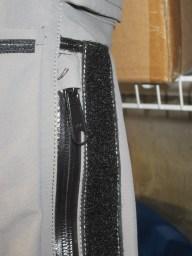 Roadcrafter Light pocket zipper. Looks tighter.