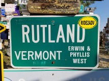 Near our home town in Vermont. A Ride2ADV is tagging along!