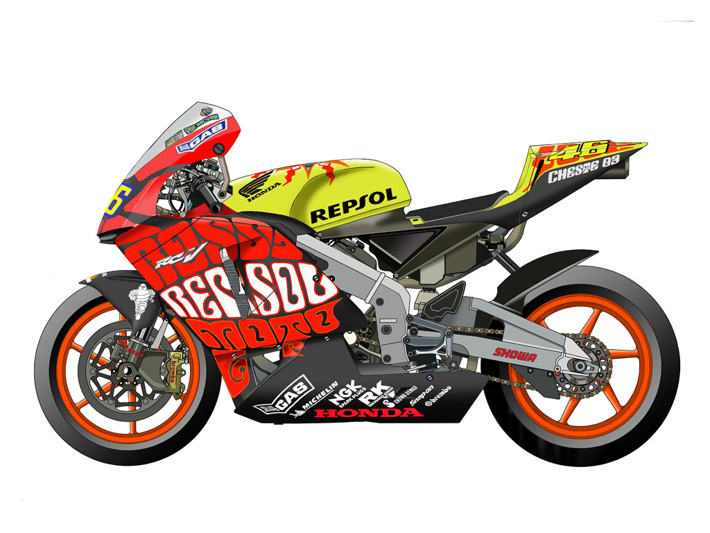 Motor The Doctor Valentino Rossi 1996  2012  Ride Alone