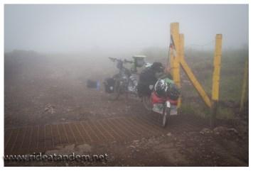 Nach dem regen kommt die Sonne und dann der Nebel. Logische Kette nett man so etwas.