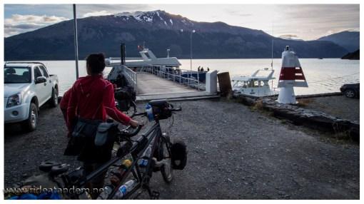 Am Hafen, das Schiff ist da, wir auch. Es kann losgehen ;-)