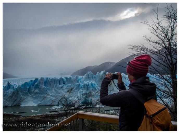 Ich vermute es gibt mehr Bilder vom Perito Moreno auf Miekes Kamera als von mir. Gletscher müsste man sein ;-)