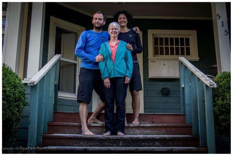Barb Harris hat uns bei sich aufgenommen. Wir haben 3 supernette Tage in Ihrem Haus wohnen dürfen.